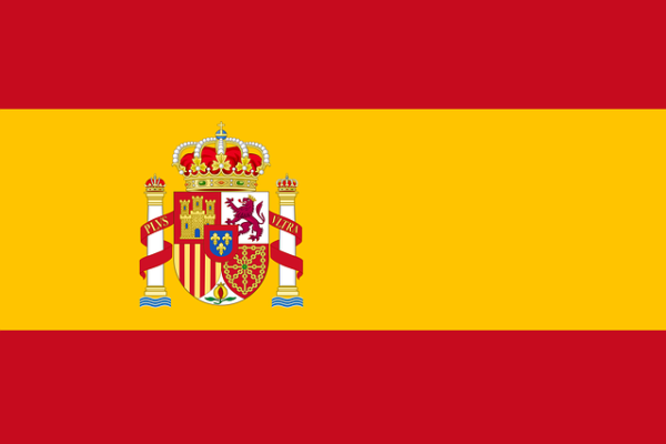 Spanische Nationalflagge