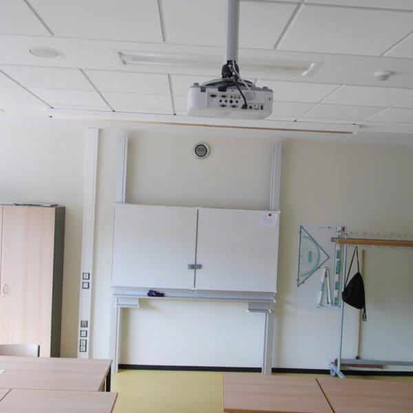 Klassenraum mit Whiteboard