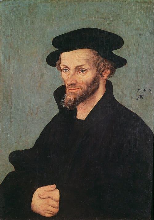 Portrait von Philipp Melanchthon