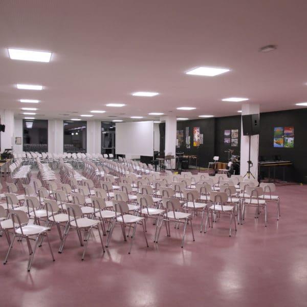 Die Mensa als Veranstaltungsraum