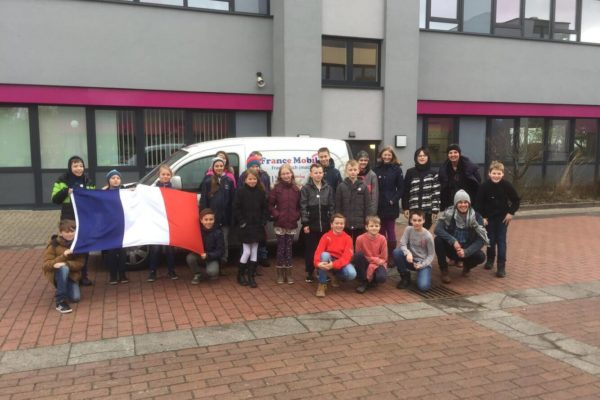 France Mobil besucht das PMG - 1